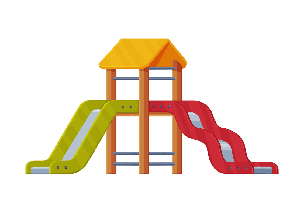 Free Playground Slide clipart png