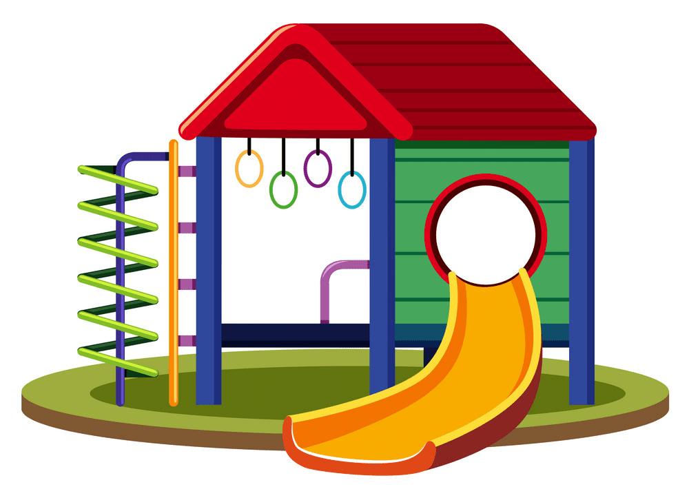 Free Playground Slide clipart