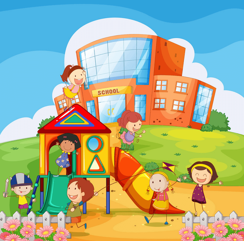Free School Playground clipart for download