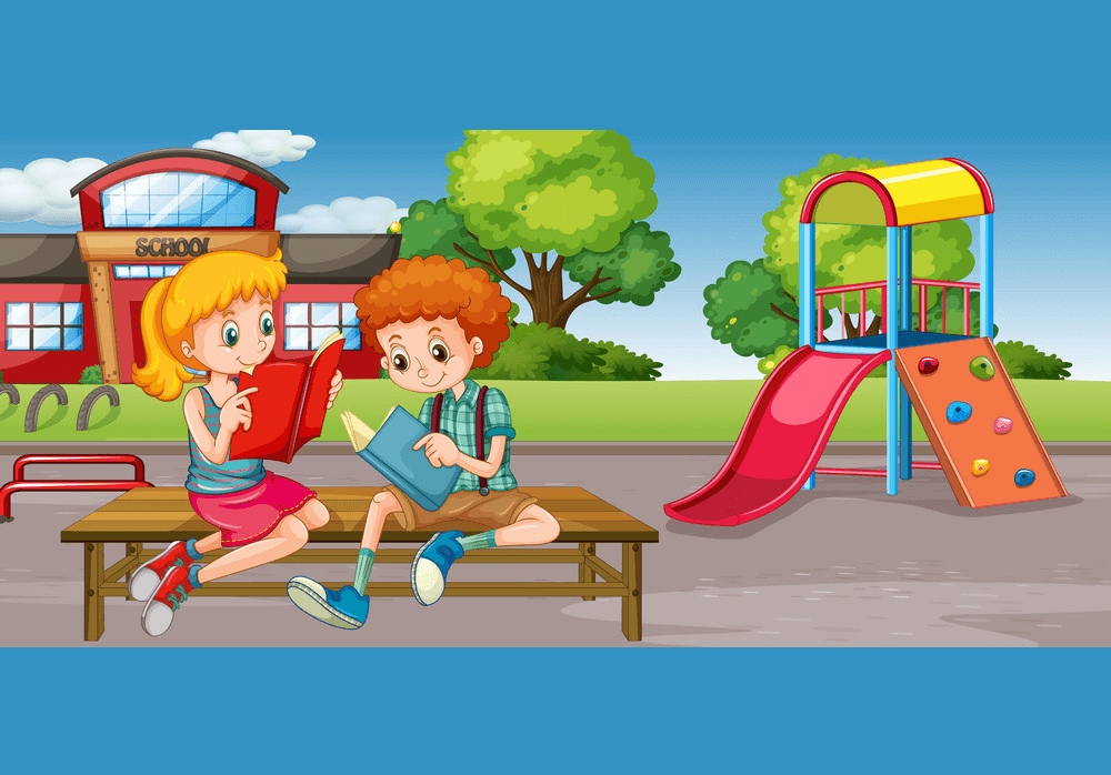 Free School Playground clipart png image