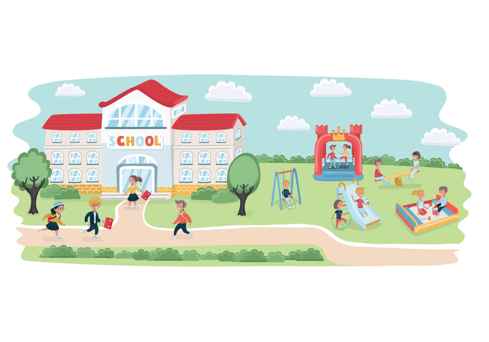 Free School Playground clipart png