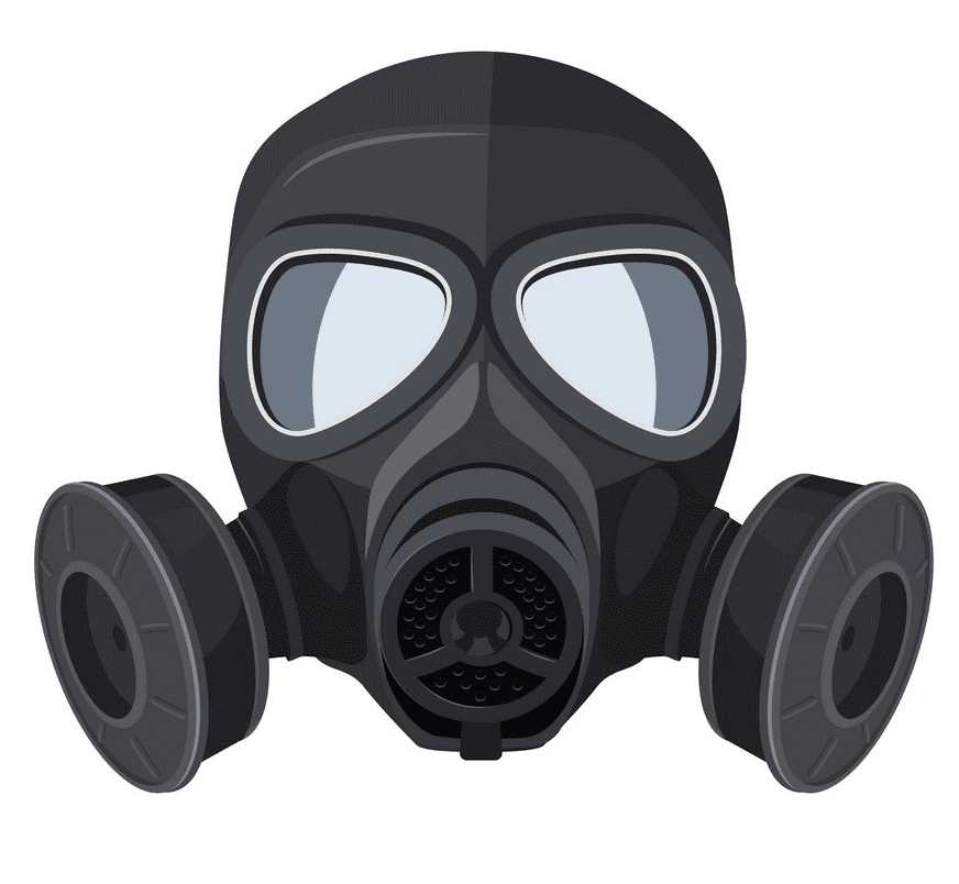 Gas Mask clipart 2