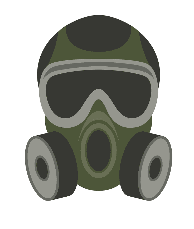 Gas Mask clipart free