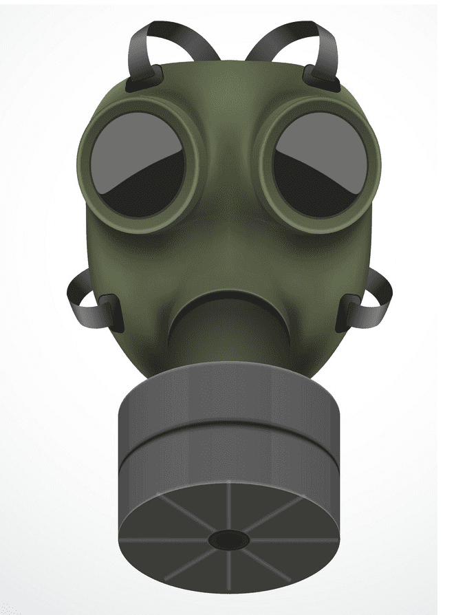 Gas Mask clipart png