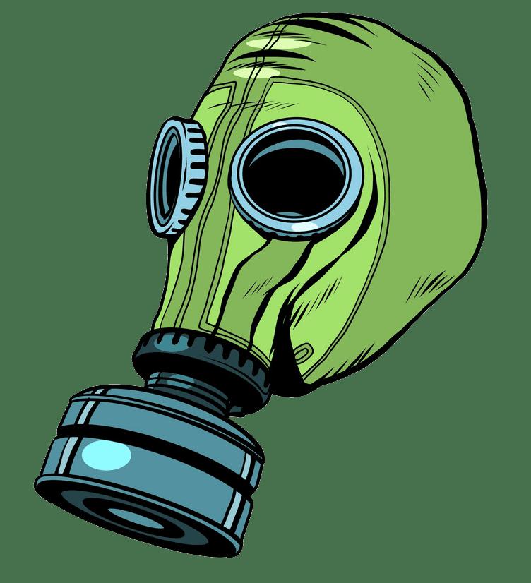 Gas Mask clipart transparent