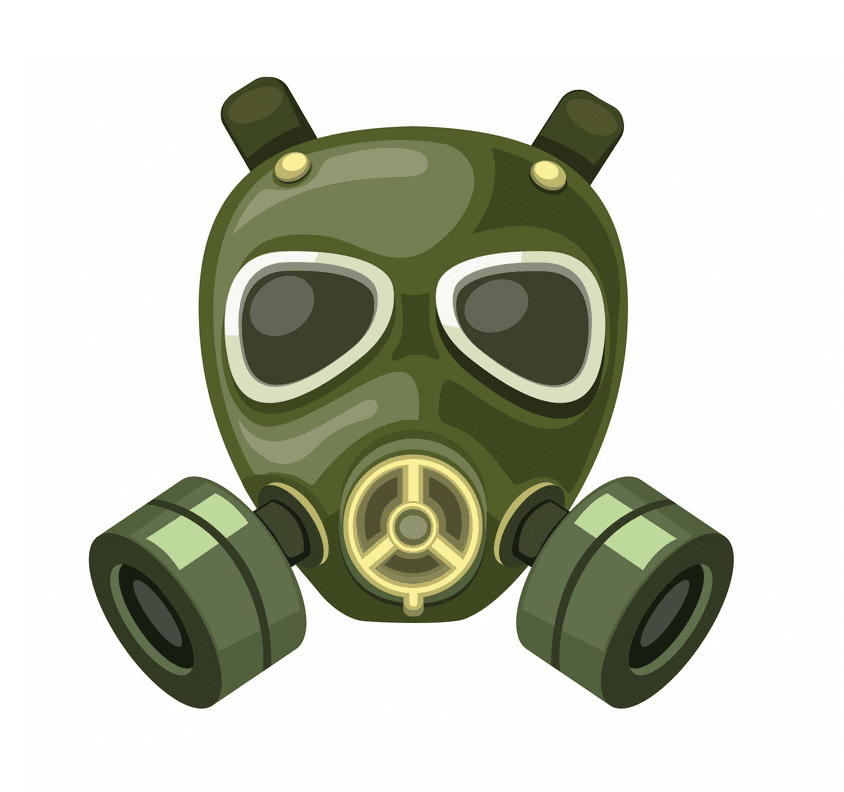 Gas Mask clipart