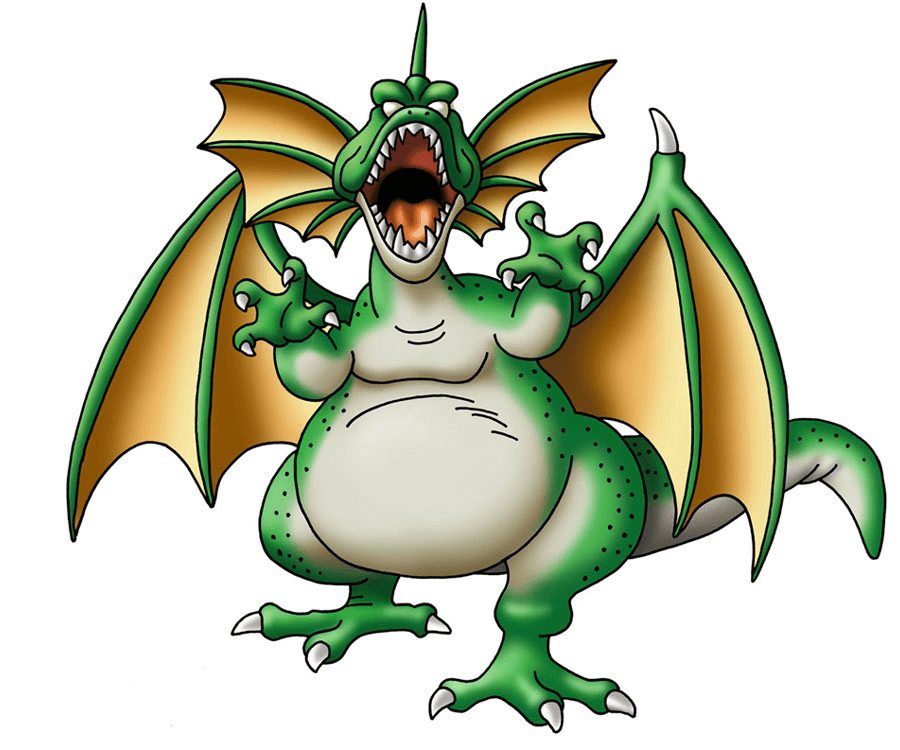 Green Dragon clipart png free