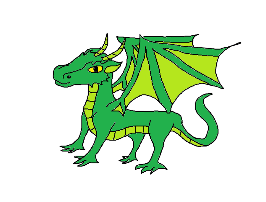 Green Dragon clipart png images