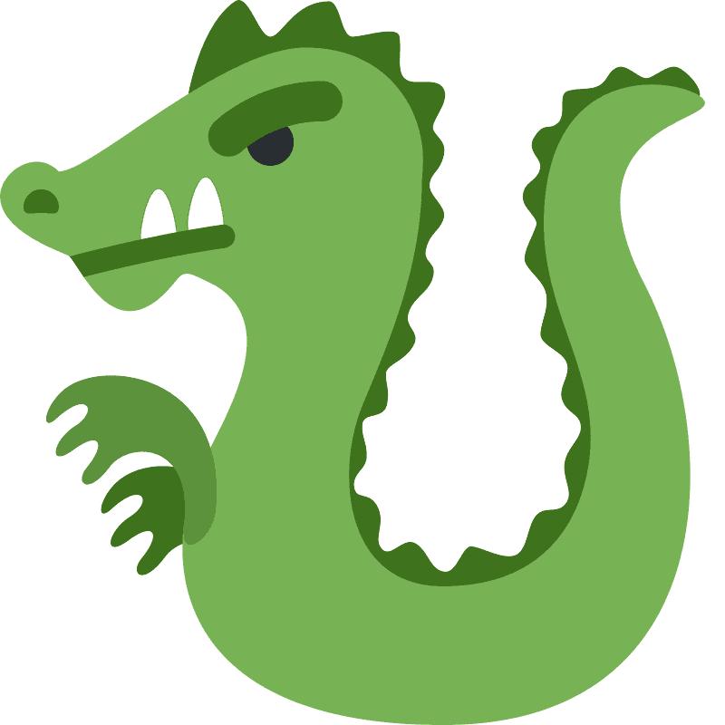 Green Dragon clipart