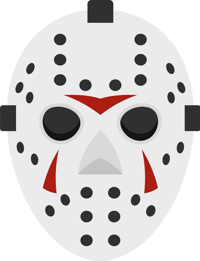 Hockey Mask clipart 1