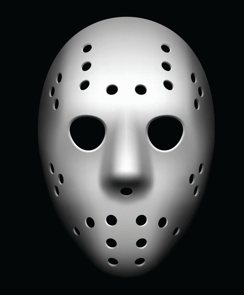 Hockey Mask clipart 2