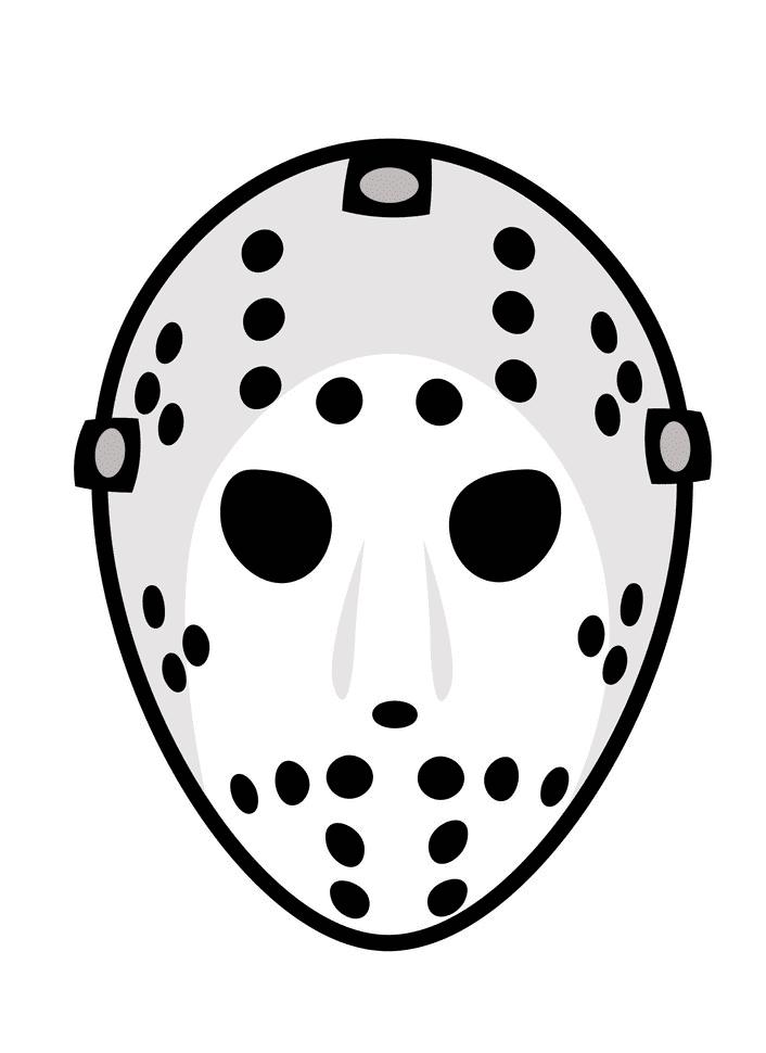 Hockey Mask clipart free