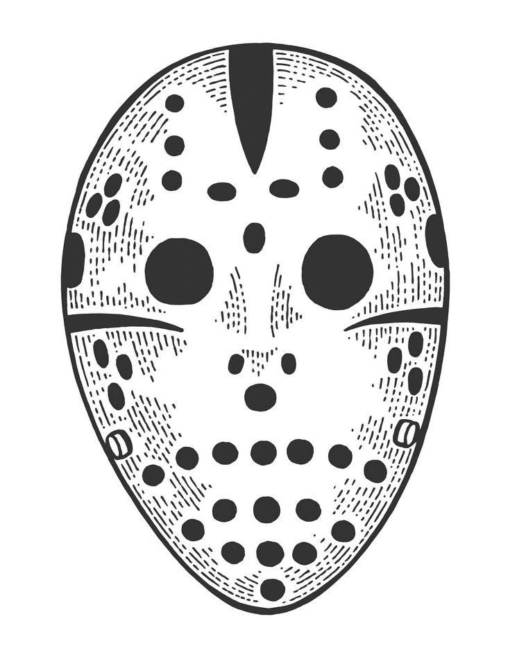Hockey Mask clipart