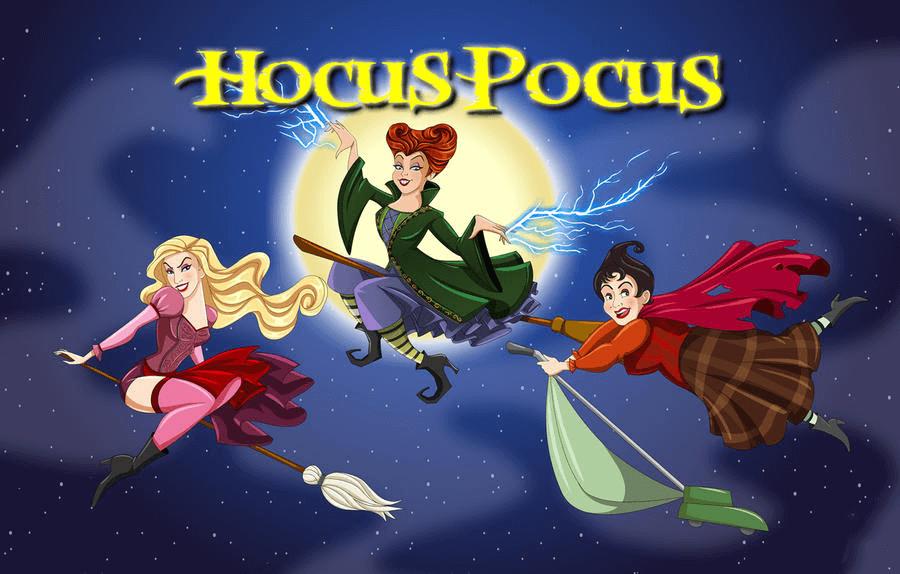 Hocus Pocus Witches clipart 7