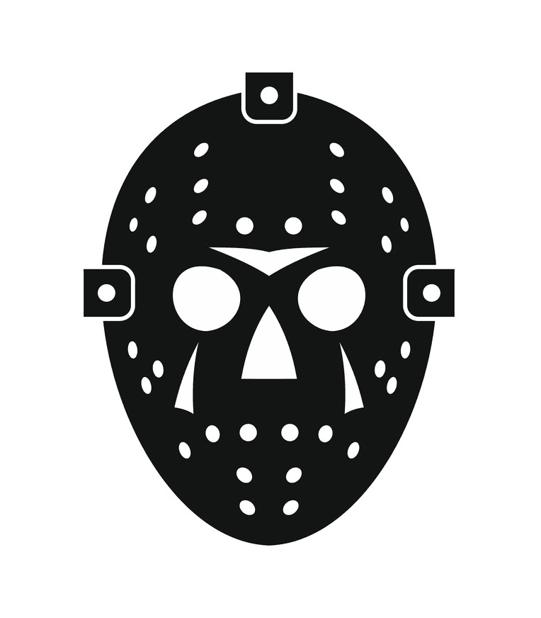 Icon Hockey Mask clipart free