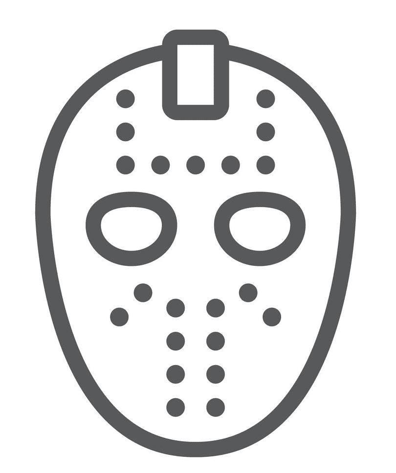 Icon Hockey Mask clipart