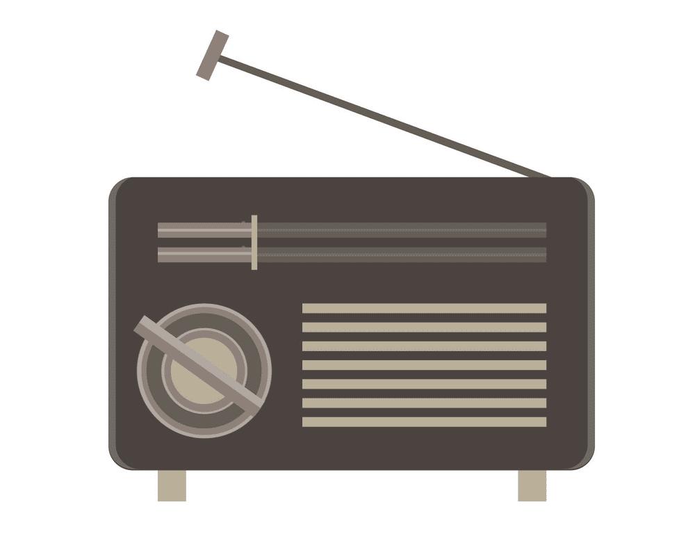 Icon Radio clipart free