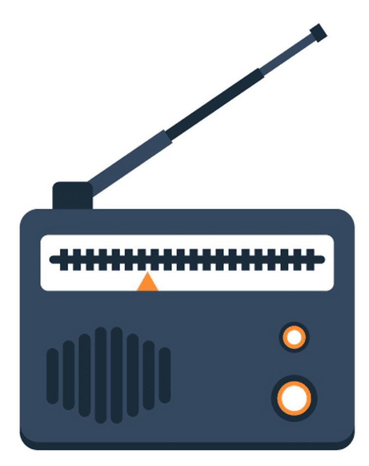 Icon Radio clipart images