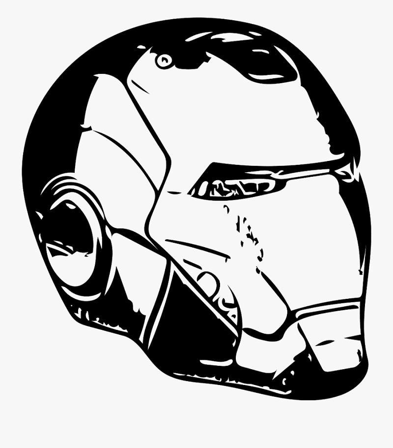 Iron Man Mask clipart 1