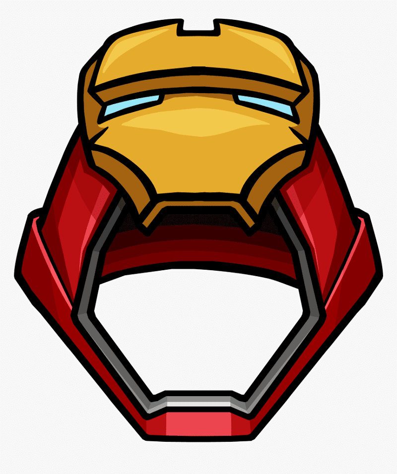 Iron Man Mask clipart 2
