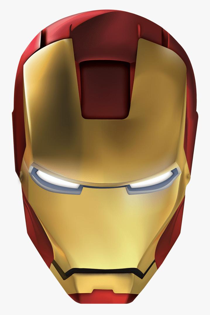 Iron Man Mask clipart 4