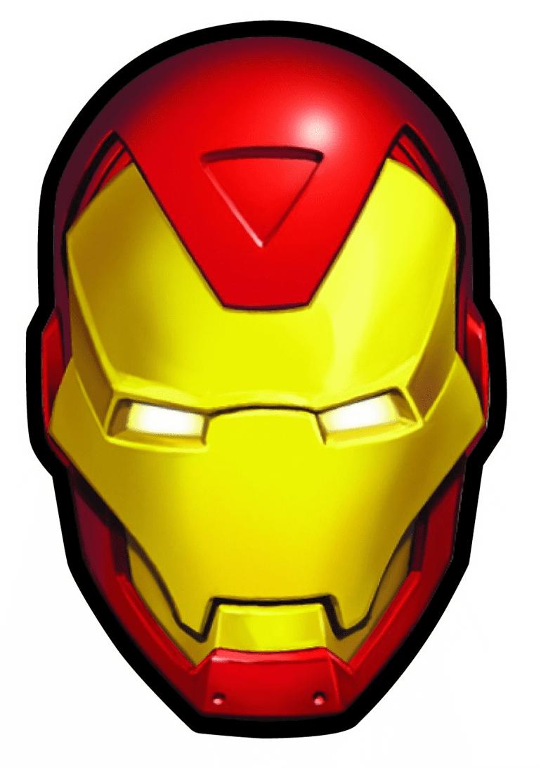 Iron Man Mask clipart 5