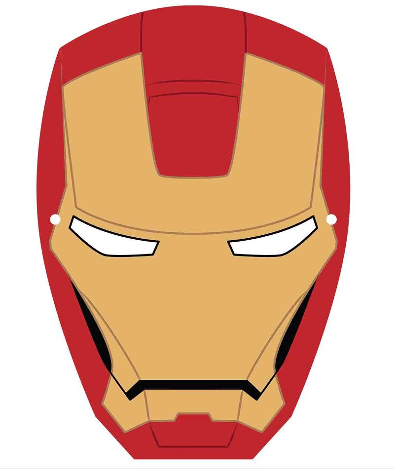 Iron Man Mask clipart