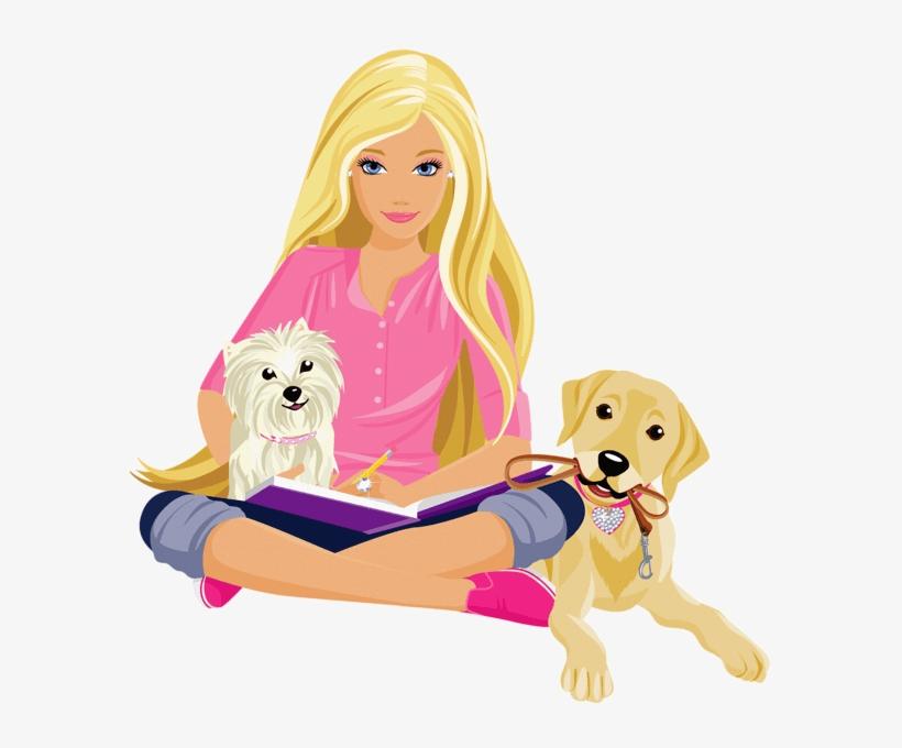 Lovely Barbie clipart