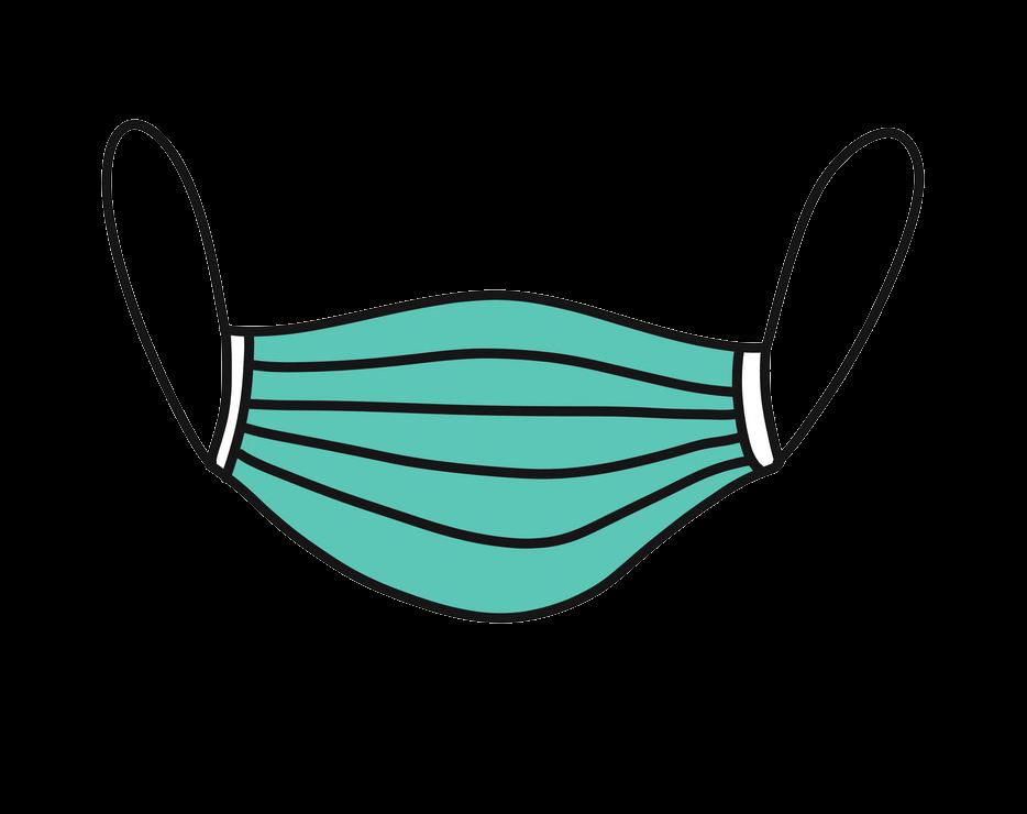 Medical Mask clipart transparent 1