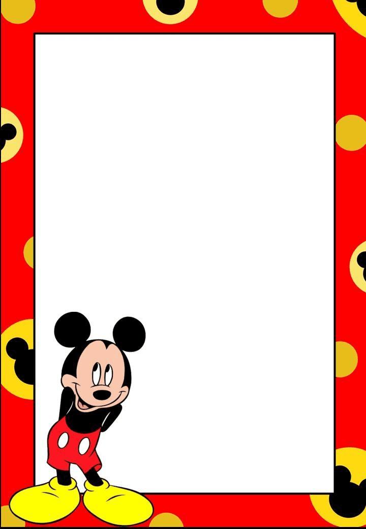 Mickey Disney Border clipart