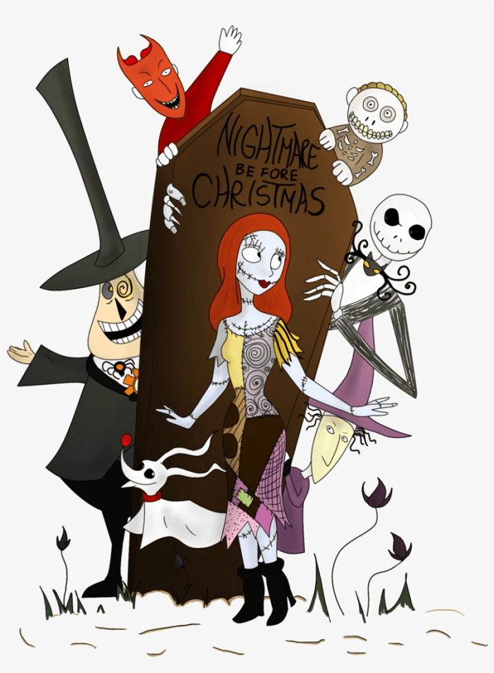 Nightmare Before Christmas Characters clipart free