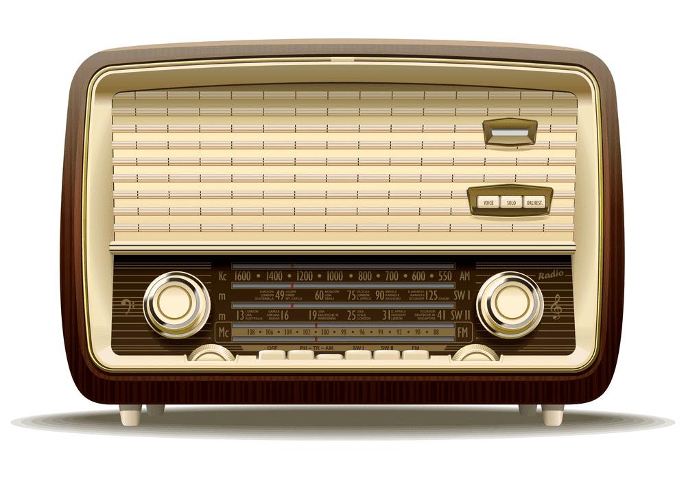 Old Radio clipart free