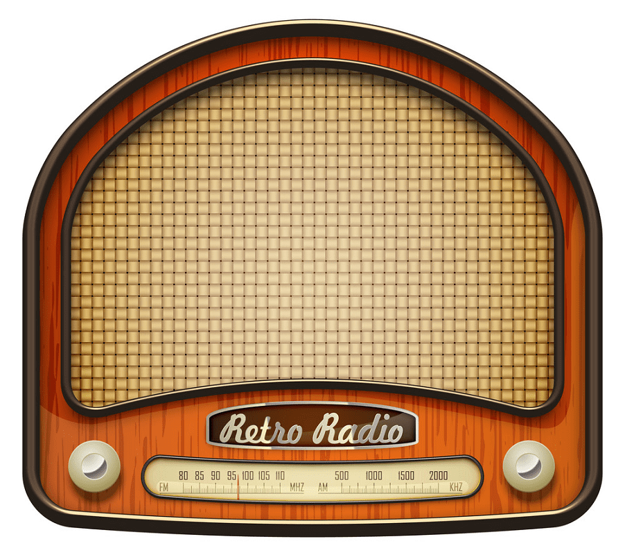 Old Radio clipart png