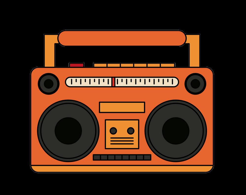 Old Radio clipart transparent background