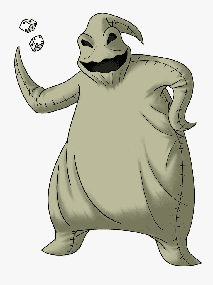 Oogie Boogie Nightmare Before Christmas clipart png