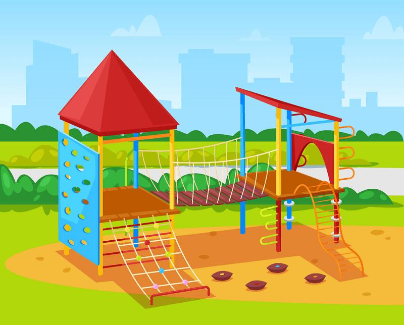 Park Playground clipart 10