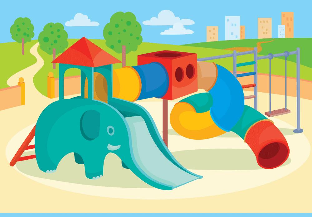 Park Playground clipart 3