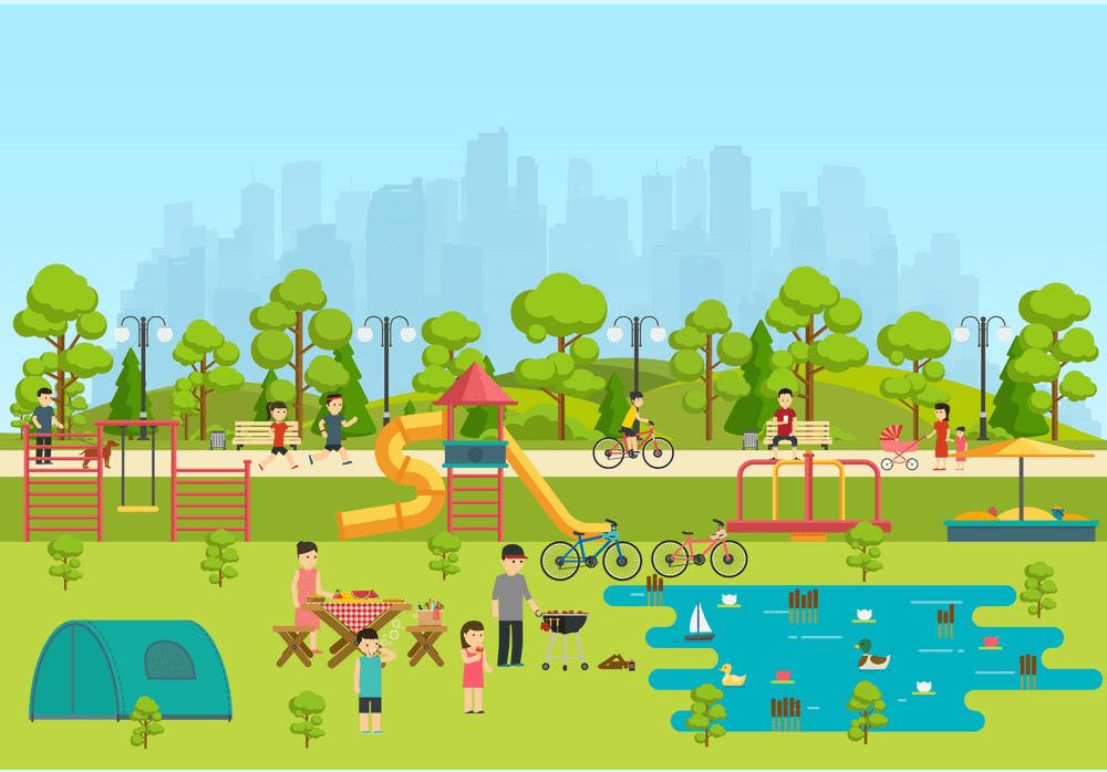 Park Playground clipart 5