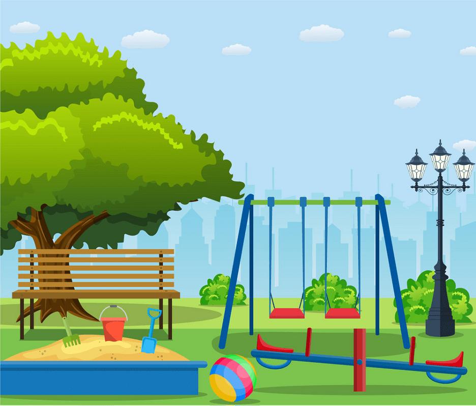 Park Playground clipart 6