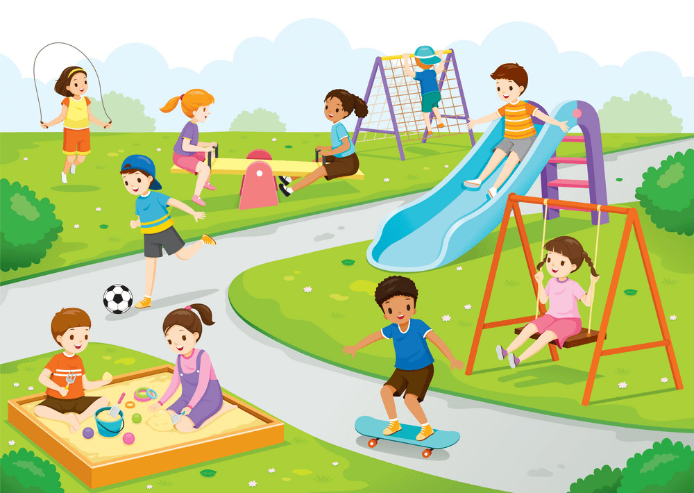 Park Playground clipart 7