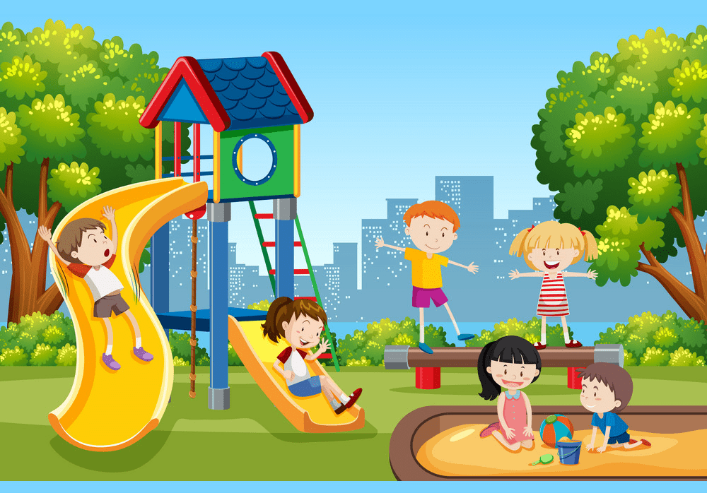Park Playground clipart 8