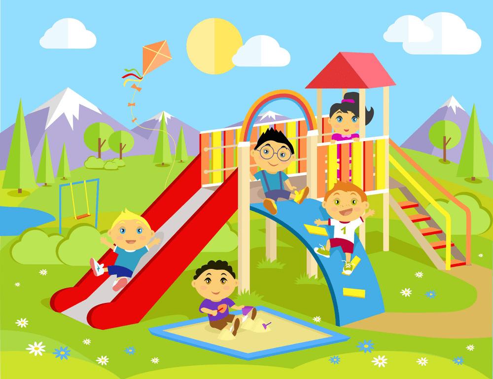 Park Playground clipart 9
