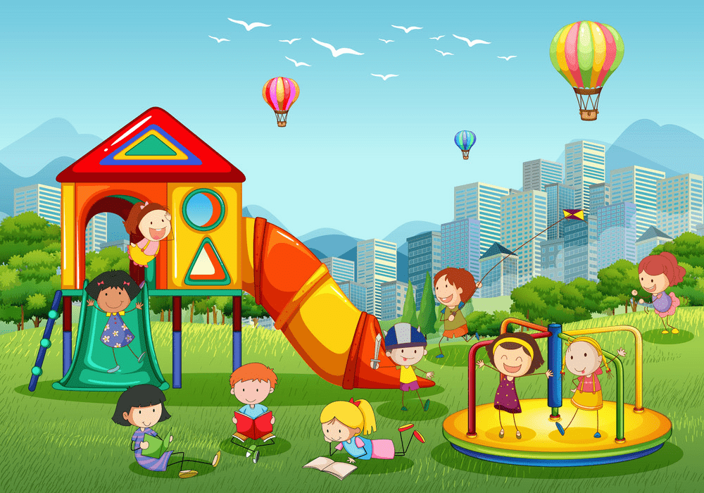 Park Playground clipart free download
