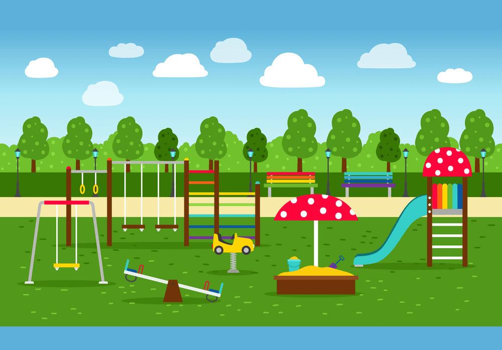 Park Playground clipart free image