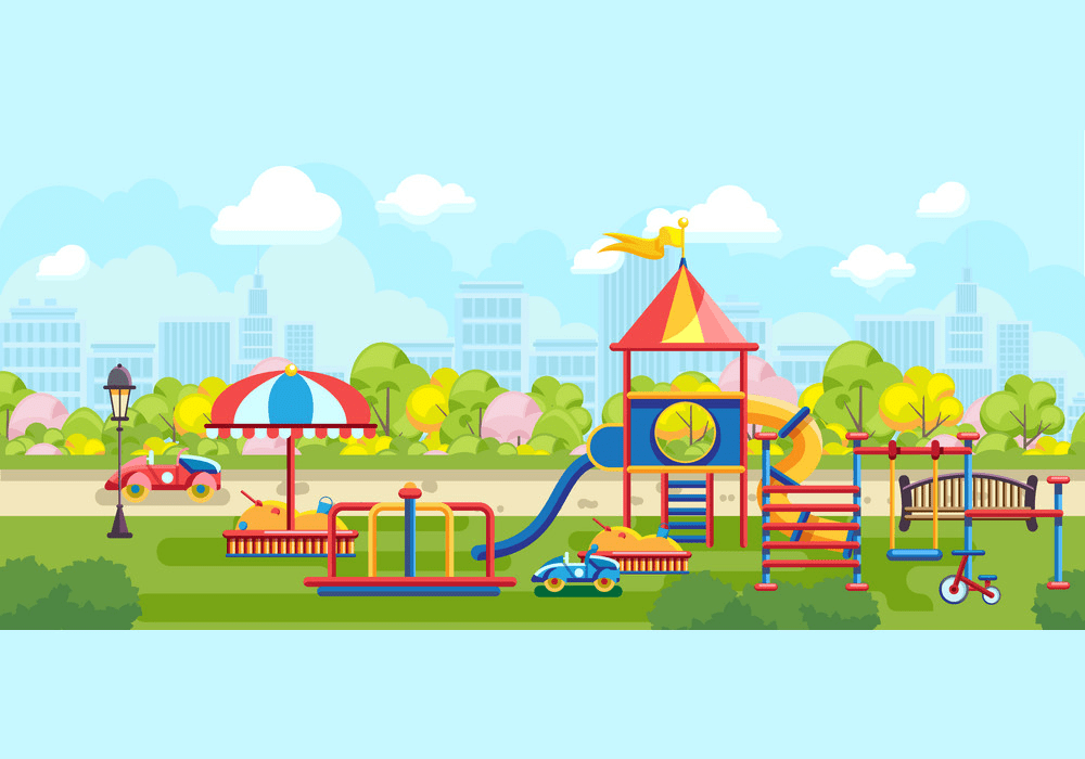 Park Playground clipart free images
