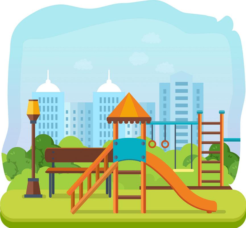 Park Playground clipart image