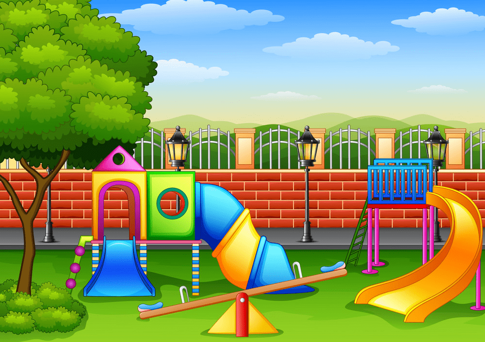 Park Playground clipart images