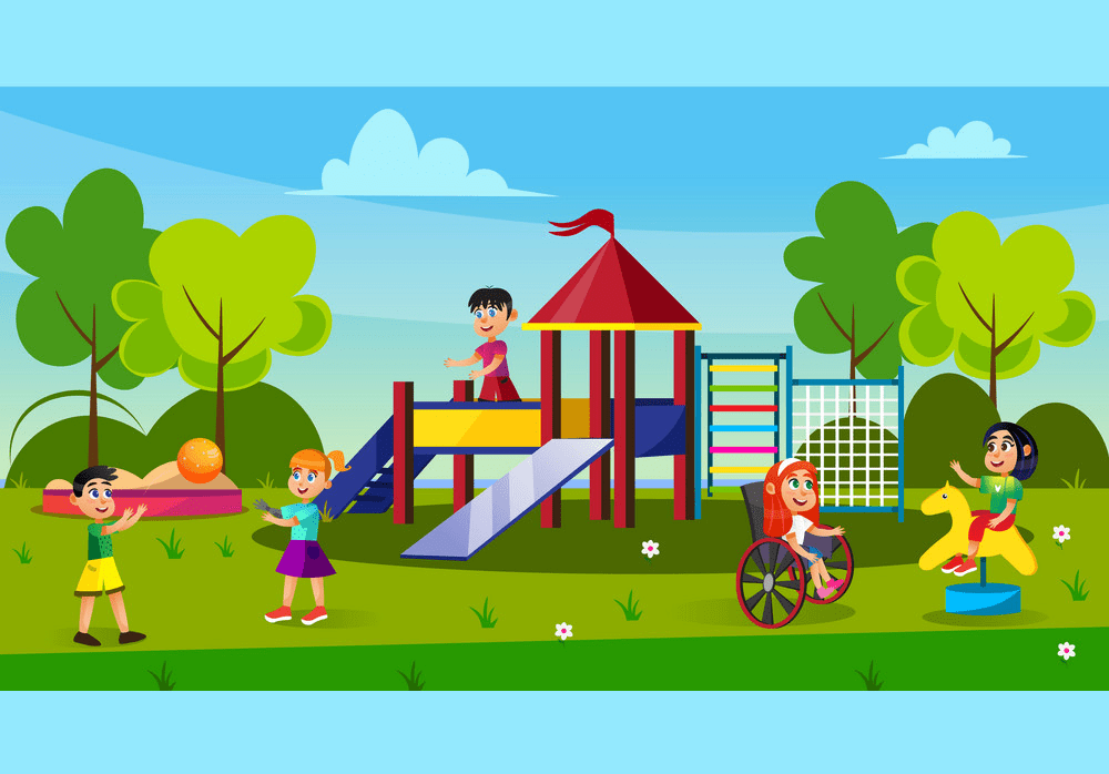 Park Playground clipart png download