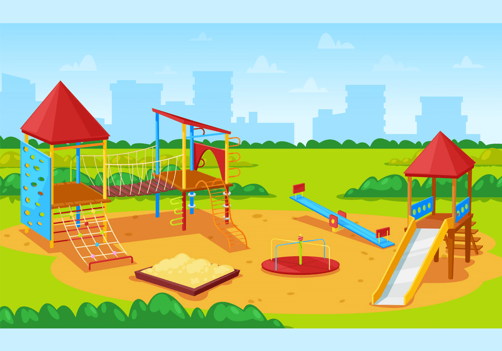 Park Playground clipart png image