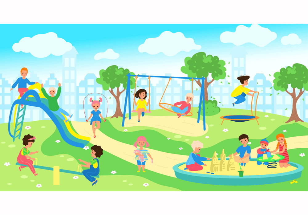 Park Playground clipart png picture